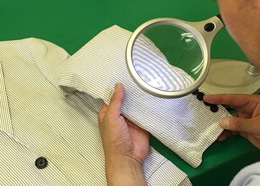 繊維製品品質管理士(TES)が常駐するショップ